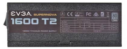 Блок питания EVGA Supernova 1600 T2 для энтузиастов
