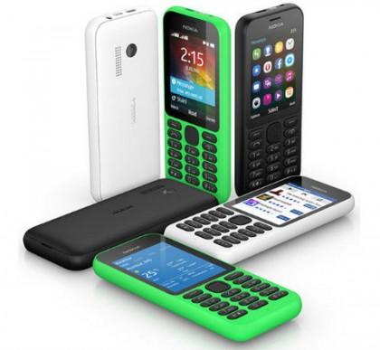 Microsoft представил Nokia 215 — удобство и доступность