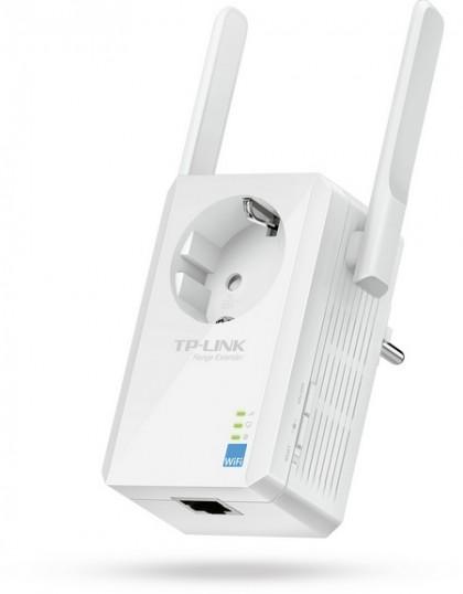 TP-LINK TL-WA860RE позволяет расширить покрытие Wi-Fi